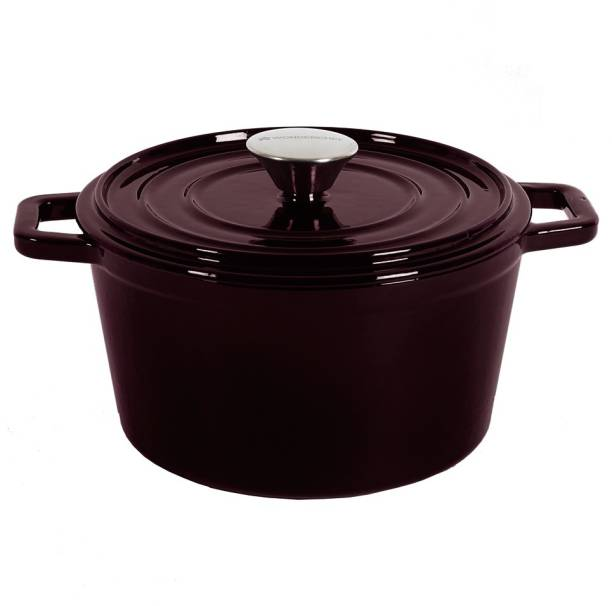 WONDERCHEF Ferro Cast-iron with lid 24cm Cook and Serve Casserole