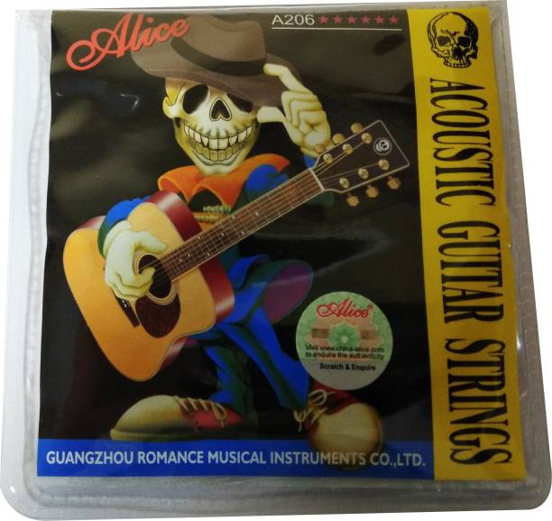 ALICE Acoustic Stainless Steel Guitar String