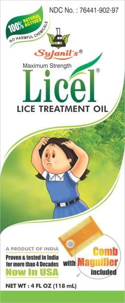 Sujanil Maximum Strength Licel Lice Treatment Oil