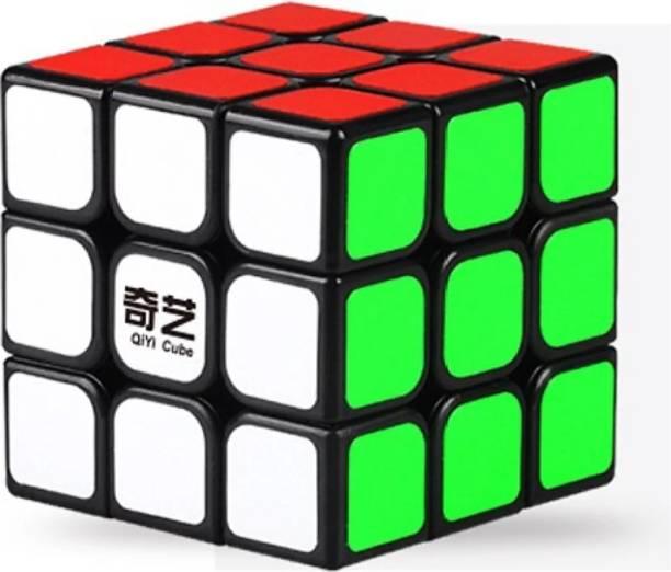 AGAMI QIYI Thunderclap 3x3x3 High Speed Stickerless Cube in Black Base