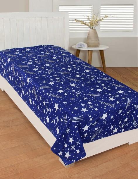 Zesture 160 TC Microfiber Single Printed Bedsheet
