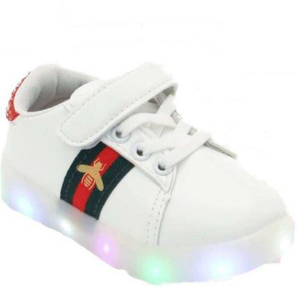 c3089e445e4f90 PASSION PETALS Boys   Girls Velcro Sneakers