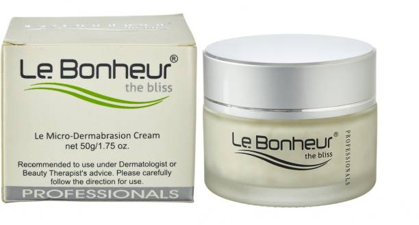 Le Bonheur Microdermabrasion Cream 50g Professional Care Scrub