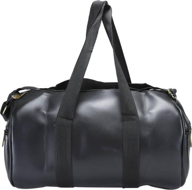 Desence Women   Girls Stylish Genuine Leather Duffle Cum Gym Bag Travel Duffel  Bag Gym Bag 2bbd6bfdee6fa