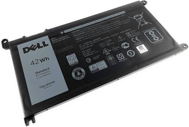 DELL WDX0R 42Whr 4-cell 11.4V Replacement for Inspiron 5368 5378 5565 5567 5568 5578 5765 5767 7368 7378 7560 7570 7579 7569 (Type WDXOR) 3 Cell Laptop Battery