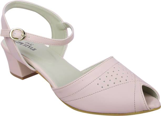 LNG Lifestyle Girls Ballerinas With Heel (Pink) buy cheap new arrival 9wqzUd3