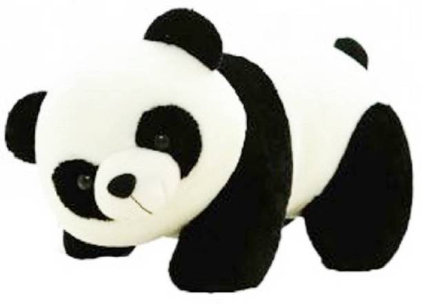 Shopfloor.XYZ Black White Cute Looking Panda Stuffed Soft Plush Toy Kids Birthday Gift  - 24 cm