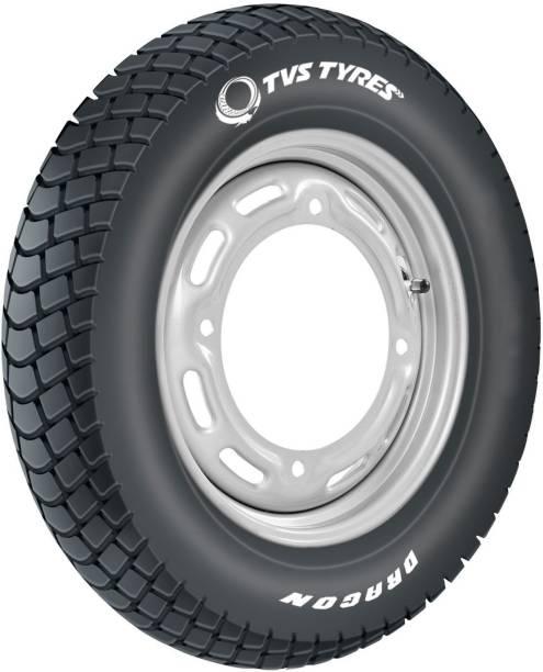 TVS DARGON PLUS 90/100-10 53J Front & Rear Tyre