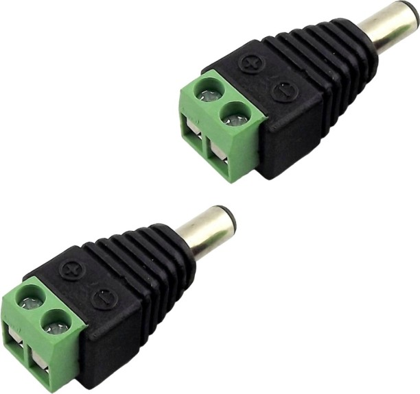 Wire Joints Connectors Buy Online At Best. Acutas 2pcs Av Screw Dc Terminal Plug For Cctv Cameras Wire Connector. Wiring. 2 Pin Quick Disconnect Wire Harness Oven At Scoala.co