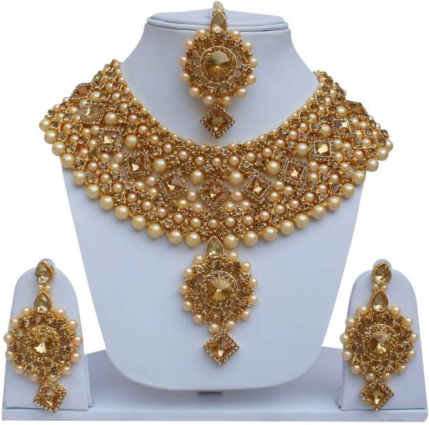 Bridal & Wedding Party Jewelry Forehead Gold Tone Traditional Maang Tikka Ethnic Wedding Party Woman Jewellery Rich And Magnificent Engagement & Wedding