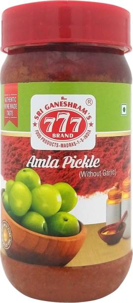 777 without Garlic Amla Pickle