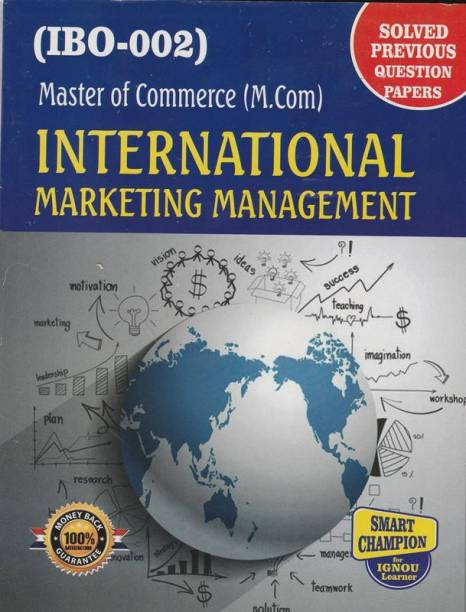 IGNOU IBO 2 International Marketing Management In English Medium With Previous Years Solved Question Papers