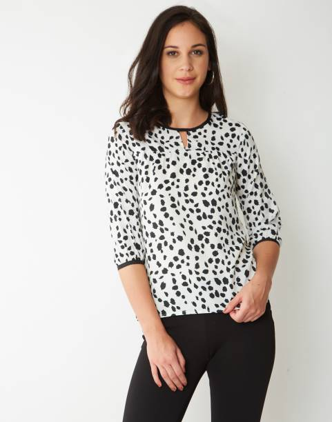 f2253e962b63a9 Animal Print Tops - Buy Animal Print Tops Online at Best Prices In ...