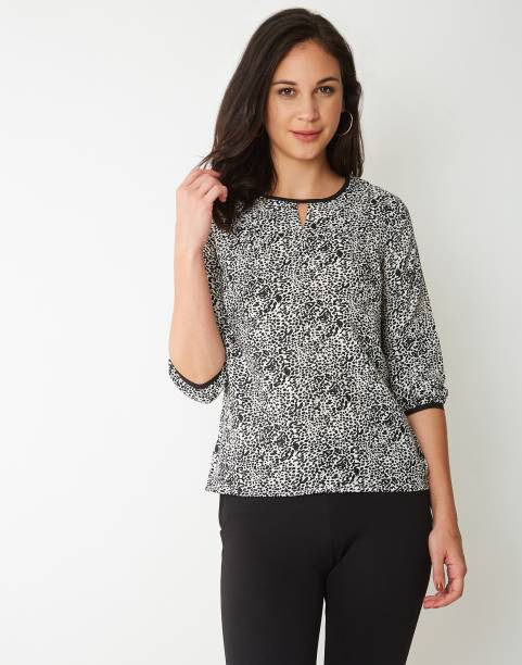 fac9b24a30 Animal Print Tops - Buy Animal Print Tops Online at Best Prices In ...