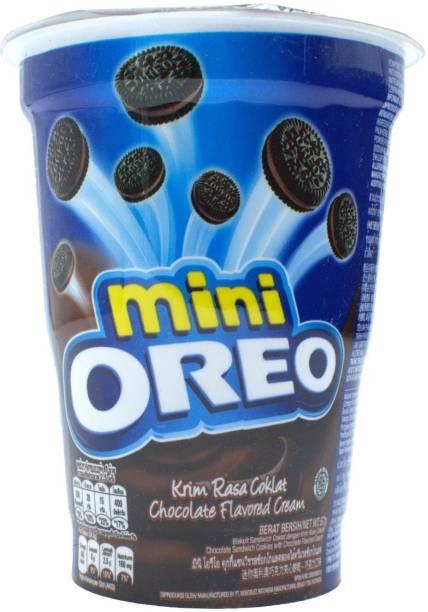 OREO Mini, Chocolate Flavored Cream - 67g Cream Filled