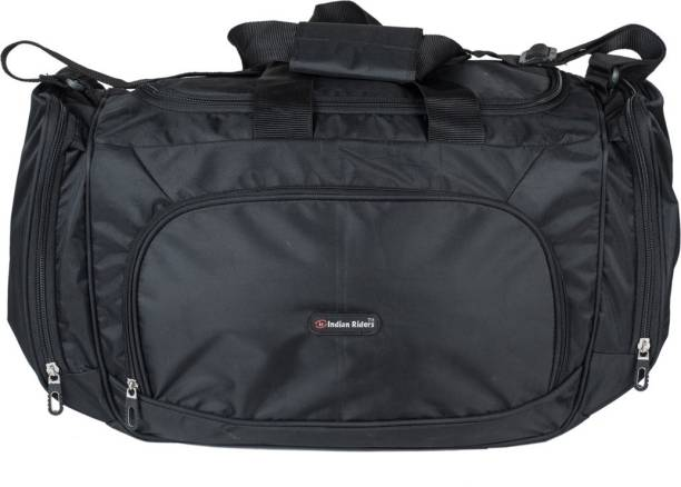Indian Riders (Expandable) Light weight Waterproof Travel Bag -Black  (IRDB-002 149ff154019a9