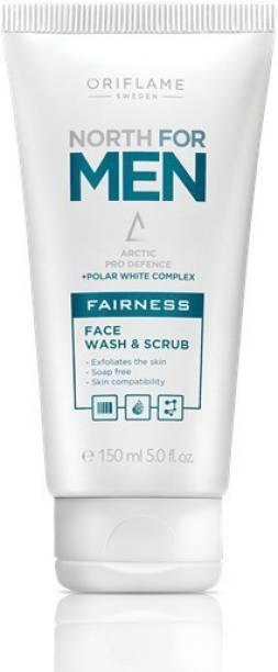 Oriflame Sweden North for Men Fairness Scrub & Face Wash