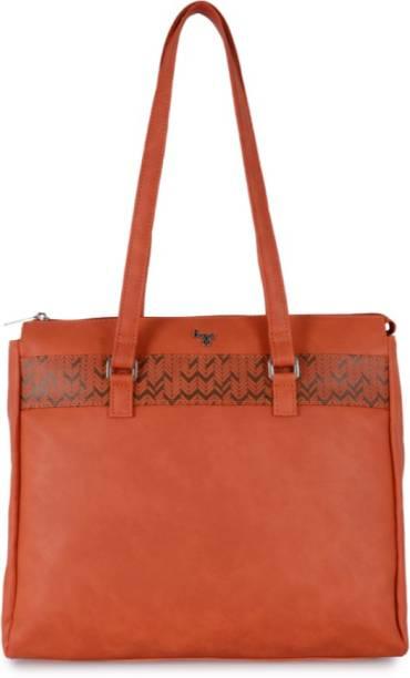 ed06ace589 Baggit Lo5 Troller Y G Z E Carmin Orange (Orange) L1 Orange Shoulder Bag