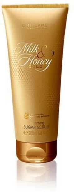 Oriflame Sweden Milk & Honey Gold Smoothing Sugar Scrub - New Scrub