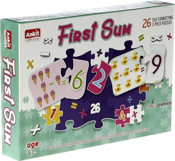 Ankit First Sum Educational Puzzle Game for Beginners