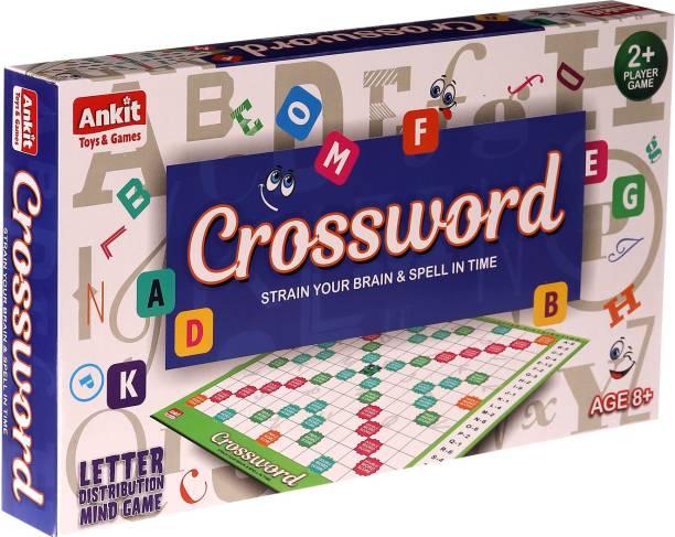 Ankit Classic Crossword Board Game Word Games Board Game