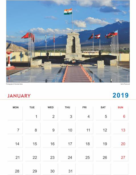my creations leh ladakh 2019 wall calendar