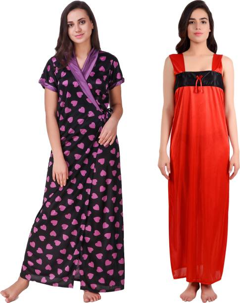 Summer Love Cotton Sarees Night Dresses Nighties - Buy Summer Love ... 2009ac33f