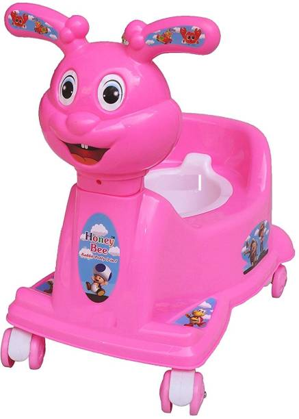 Honey bee Baby Potty Seat Cum Chair WIth Wheel Potty Box