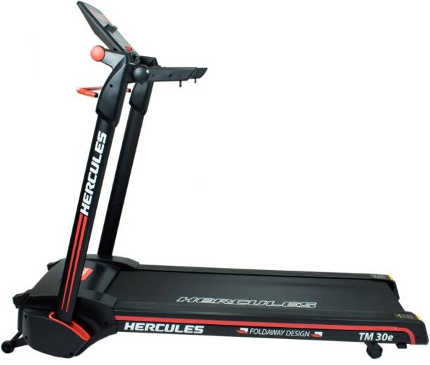 c62a06b77f48d7 Hercules Fitness TM30E 3 HP peak power and 100% Assembled patented  technology Treadmill