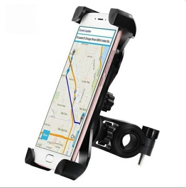 FASTPED Universal 360 Degree Rotating Bicycle/Motorcycle Cradle Mount Holder for All Size Mobile Phones Bicycle Phone Holder