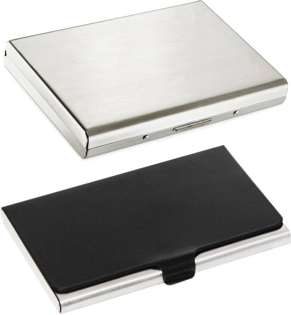 Card holders buy card holders online at best prices in india flipkart smartbuy combo of 1 silver plain atm special edition 1 dazzling divine atm reheart Choice Image