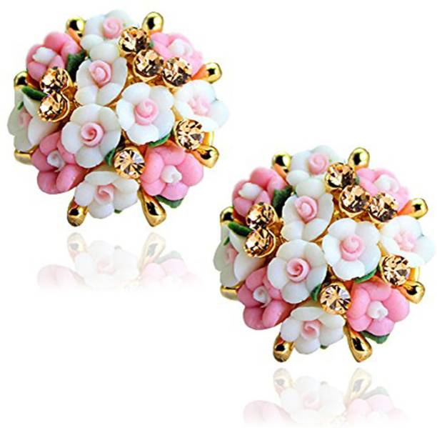 Flower Earrings Online At Best Prices