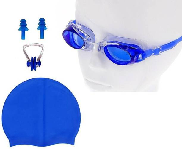 ea7ef303c57 Syndicate SW1600 Swimming Kit Contain Premium Quality Anti Fog Swimming  Goggle