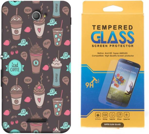 Mystry Box Cover Accessory Combo for Sony experia E4 printed mobile cover