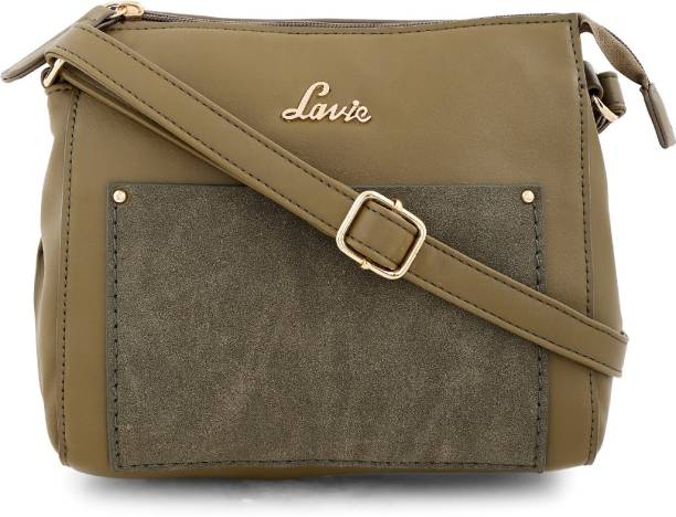 45c67ef408 Lavie Women Casual Green PU Sling Bag