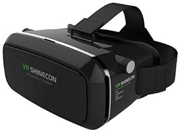 SPCtechnologies Shinecon Gaming VR Box Headset for All Smartphones with 4.7inch to 6inch Displays (Black)