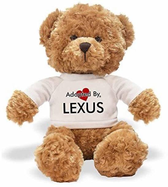 e9ecbb06571 Generic Advanta Products Adoptedby Tb1 Lexus Teddy Bear Wearing A  Personalised Name T-Shirt -