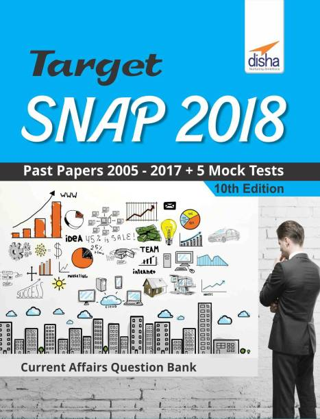TARGET SNAP 2018 (Past Papers 2005 - 2017) + 5 Mock Tests 10th Edition