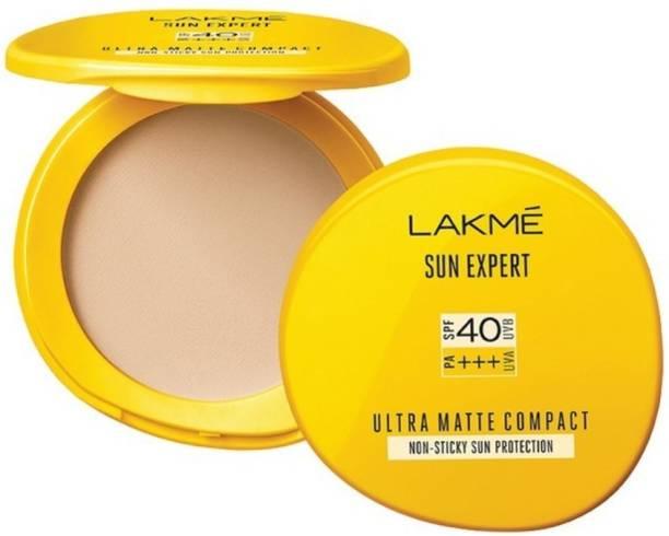 Lakmé Sun Expert Ultra Matte SPF 40 PA+++ Compact, 7g Compact