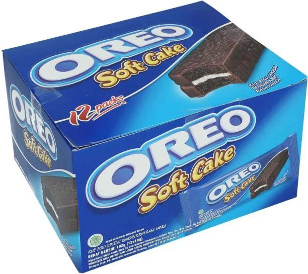 OREO Soft Cake, 12 Pack - 192g (12x16g)
