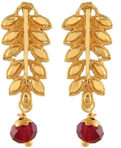 73d59290a65 Urbanela Urbanela Traditional Ethnic One Gram Gold Plated Stud Earring For  Women   Girls With Guaranteed