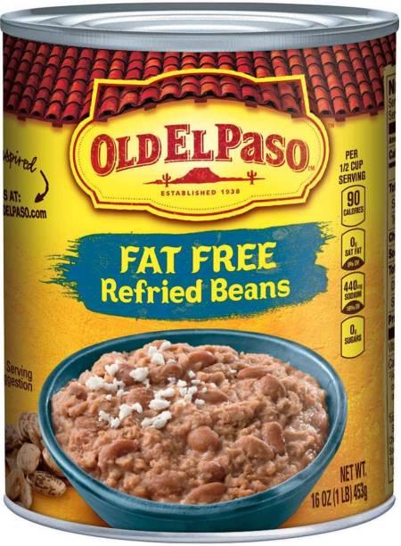 Old ELPaso Fat Free Refried Beans - 453g(16oz) 453 g