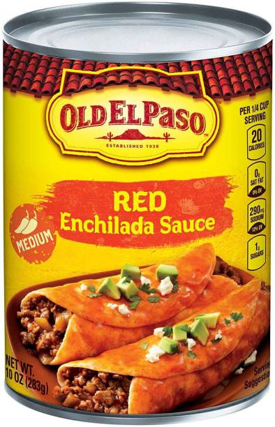 Old ELPaso Red Enchilada Sauce, Mild - 283g (10oz) Sauce