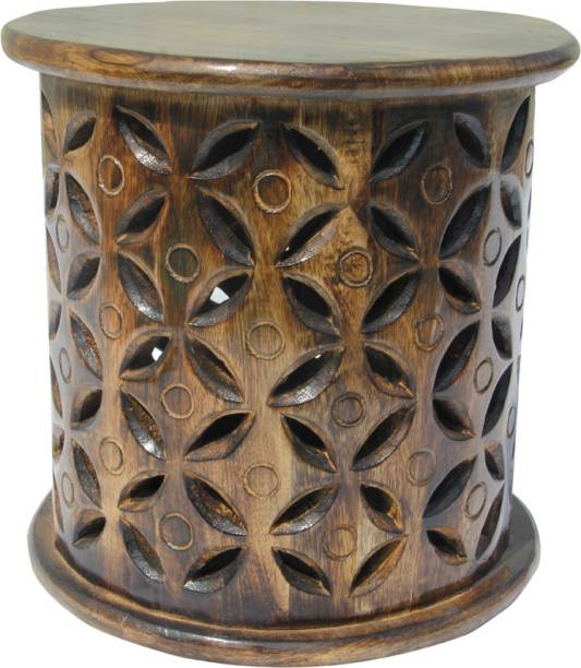 ONLINECRAFTS Solid Wood Side Table