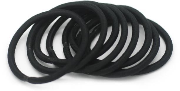 Basicare 4Mm Elastic Black 1Set Rubber Band