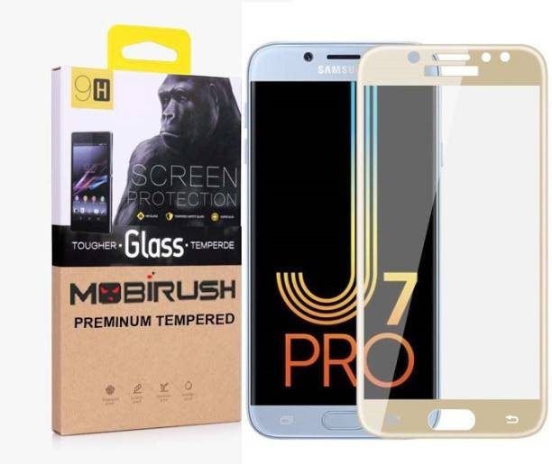 MOBIRUSH Edge To Edge Tempered Glass for Samsung Galaxy J7 Pro