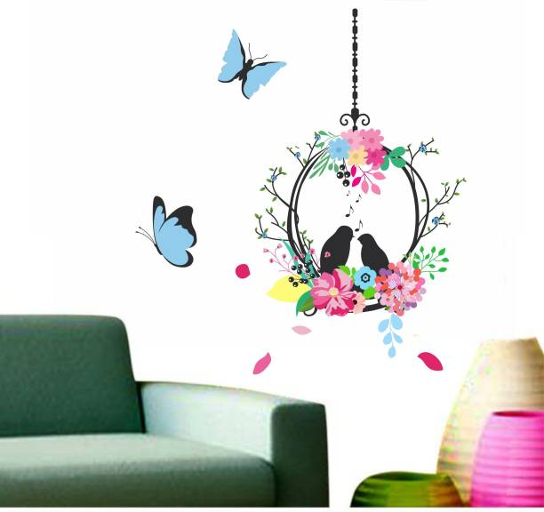 Happy Walls Bird nest cage in flowers