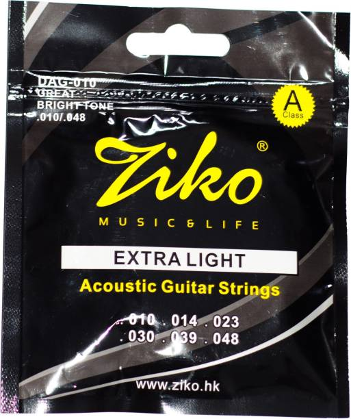 Ebullient Art Acoustic Ziko Strings Guitar String