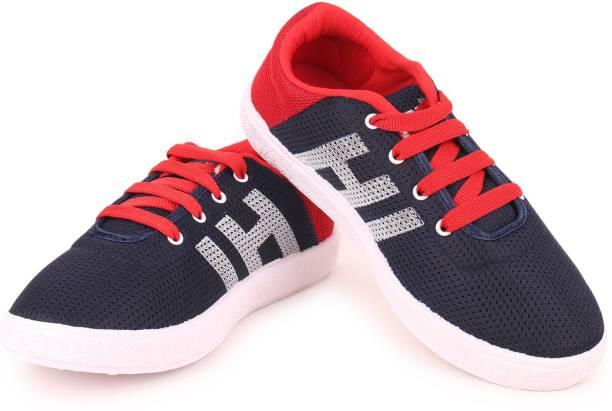Letsrun Boys Girls Lace Sneakers