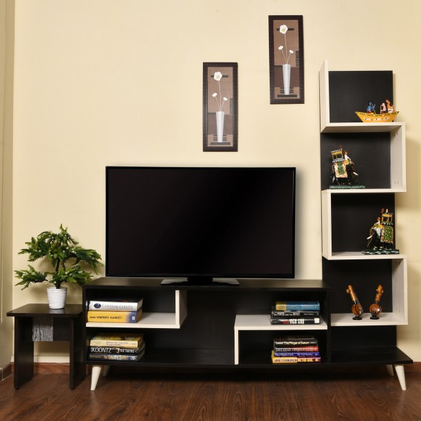 Delicieux Home Full Engineered Wood TV Entertainment Unit